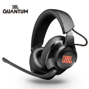 JBL 手机电脑耳机 头戴式无线耳机 电竞游戏耳麦带麦克风 QUANTUM600