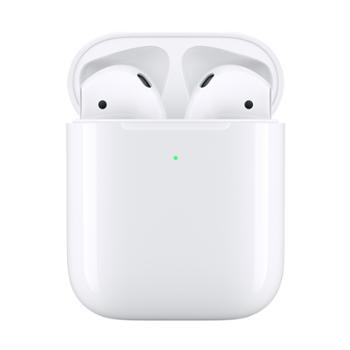 Apple AirPods 2代 配无线充电盒 苹果无线蓝牙耳机