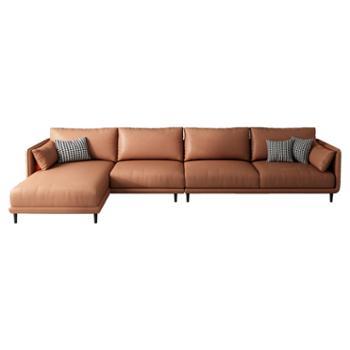 科莱斯克现代简约组合客厅北欧大小户型科技布乳胶布沙发