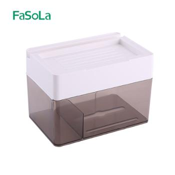 FaSoLa卫生间免打孔纸巾盒RY-272