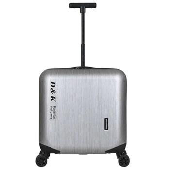迪克瑞墨娃单拉杆小型拉杆箱18寸迷你行李箱男女旅行箱超轻登机箱密码箱