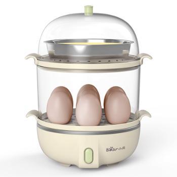 小熊/Bear煮蛋器ZDQ-B14Q1多功能1人早餐机