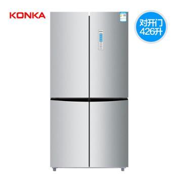 Konka/康佳 BCD-426WEGY4S四门对开双门十字冰箱多门家用风冷无霜