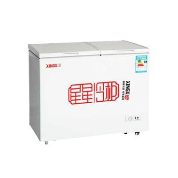 XINGX/星星冰柜商用家用卧式双温冷藏冷冻冷柜BCD-230HE