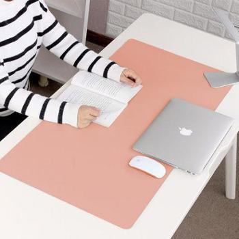 笔记本电脑垫桌垫防水超大号鼠标垫写字台垫键盘垫办公桌垫可定制 可爱女生书桌垫 学生写字垫 学习桌面垫子 双面款800*400mm