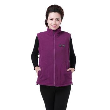 百旅Bailv中老年妈妈装韩版修身棉马甲保暖马甲加厚外套