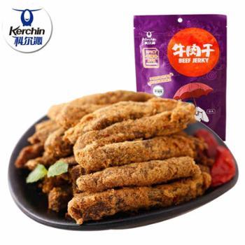内蒙古科尔沁牛肉干105g休闲零食