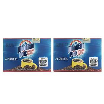 牙买加摩品速溶咖啡48克x2盒
