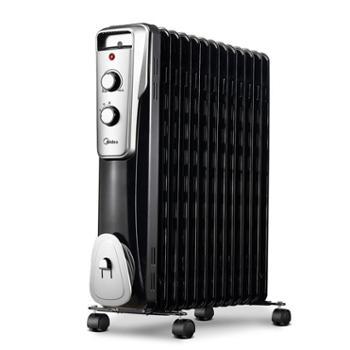 美的取暖器油汀电暖器电暖炉NY2513-16J1W