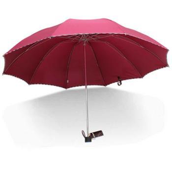 天堂伞超大折叠加固双人晴雨伞