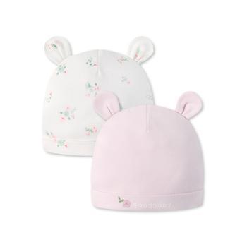 Goodbaby/好孩子婴幼儿保暖防风棉质宝宝帽2件装