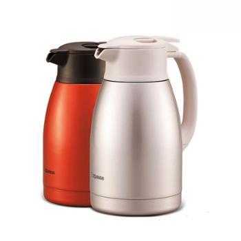 日本象印 不锈钢保温壶HA15C 橙色