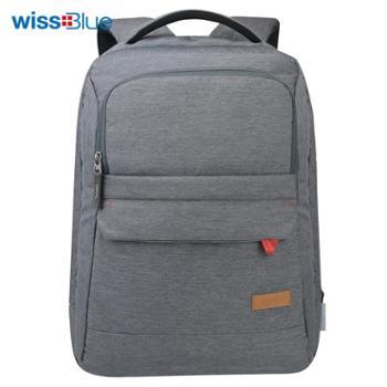 维仕蓝风行系列背包 防泼水涤纶料 WB1145 灰色