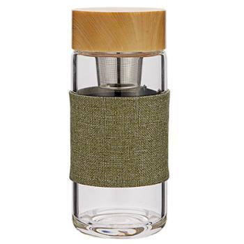 萨汀莱斯 乾坤杯亚麻棕/黛绿 容量400ml
