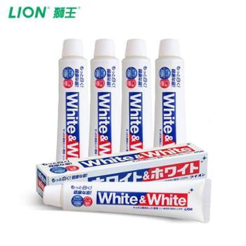狮王/LION日本进口WHITEWHITE白酵素牙膏150g*4支TG