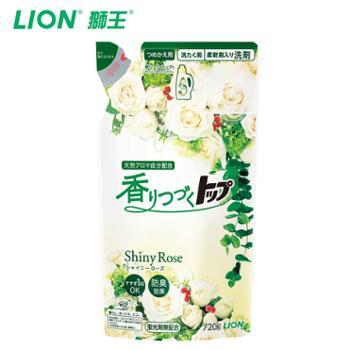 狮王日本进口洗衣液plus防臭持久香氛柔顺洗衣液替换装720g
