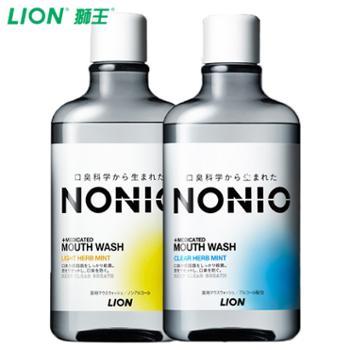 狮王/LION日本进口NONIO漱口水600ml*2瓶
