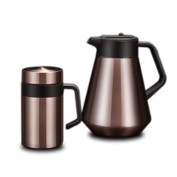 商务杯壶套装真空保温杯壶两件套