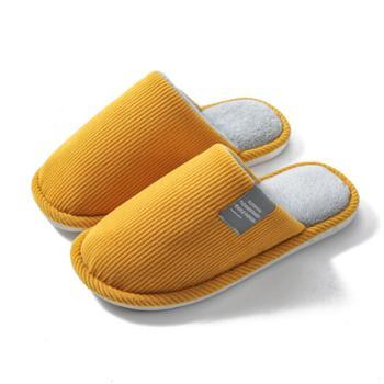 新款秋冬季情侣毛托鞋家居室内保暖厚底防滑棉拖