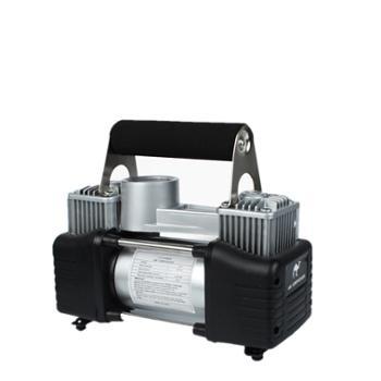 汽车双缸充气泵24.5*10*20CM车载打气泵大功率充气泵