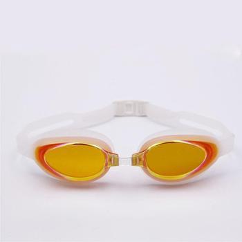 GRiLong 硅胶电镀泳镜高档成人男女泳镜高清防雾 MC-816