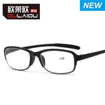 oulaiou/欧莱欧老花镜树脂大框老花眼镜新款中老年人老视镜2029