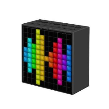 Divoom Timebox2代智能蓝牙音箱LED无线迷你便携闹钟音响通话收音