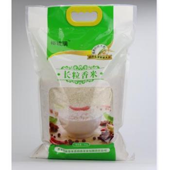 佰香 泰来大米长粒香大米5kg 东北大米 送100g小米