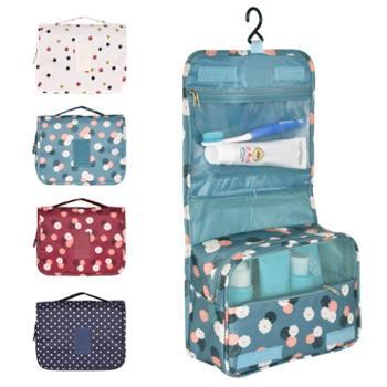 GRID-IT印花防水洗漱包XS-016挂钩旅行整理包化妆包可折叠手提收纳包整理袋