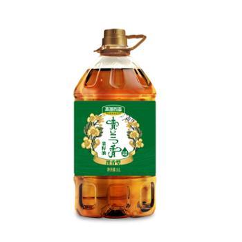 高源西海 青兰香菜籽油 5L