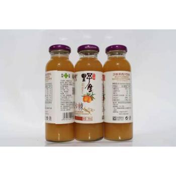 龙羊野生沙棘果肉汁12瓶/箱/250ml
