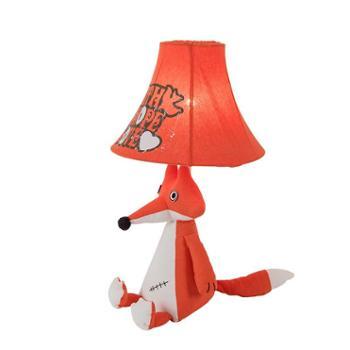 不一巴里空间小狐狸笨笨象萌宠儿童卧室布艺台灯