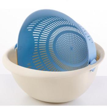 慕之风水果篮洗菜篮沥水篮塑料厨房用品蔬菜厨房工具