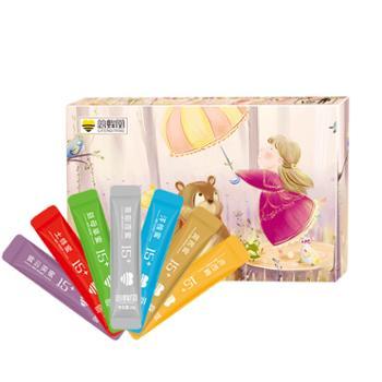 慈蜂堂彩虹蜂蜜10g*49条易撕便携装纯净天然成熟蜜七种蜜源不同口味