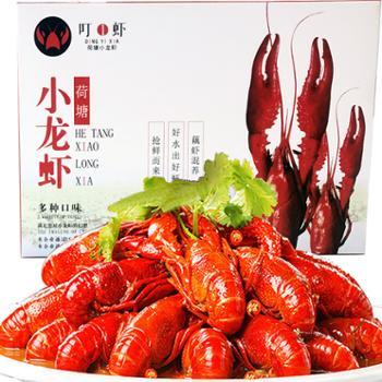 泗水良农麻辣小龙虾熟食鲜活现烧4-6钱盒装750g*2