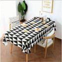 北欧加厚棉麻桌布防水防油防烫餐桌台布茶几布餐垫简约风茶几小桌布