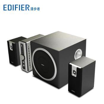 Edifier/漫步者 C2 多媒体2.1声道有源电脑音箱 木质低音炮电视音响