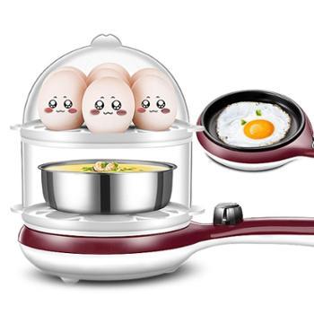 领锐煎蛋器蒸蛋器家用小型电煎蛋锅插电全自动煎鸡蛋早餐神器3108