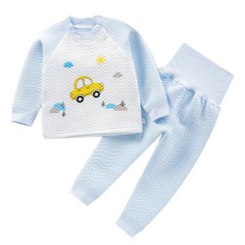 梦幻娃儿童保暖衣套装男童女童加棉加厚秋衣秋裤
