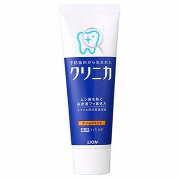 LION/狮王酵素牙膏温和薄荷130g/支美白去牙渍