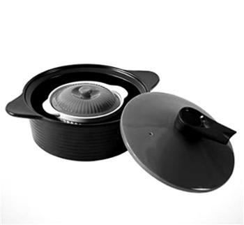 菲米生活(PHMI)创意实用厨房礼物 王者耐热陶瓷养生锅套装组合 适用燃气煤气电陶炉