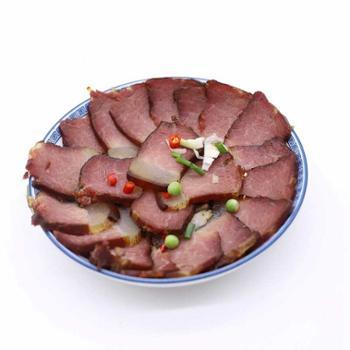 瞿塘峡 重庆奉节农家高山腊肉二刀肉(后臀肉) 500g
