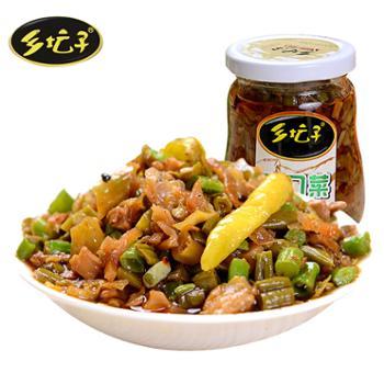 乡坛子 拌饭下饭菜 爽口菜 220g*2瓶