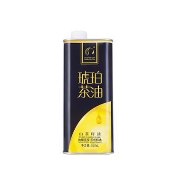 琥珀 有机山茶油盒装 550ml