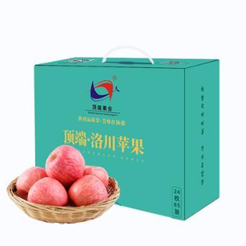 顶端果业 陕西洛川红富士苹果 24枚精品礼盒(果径85mm)