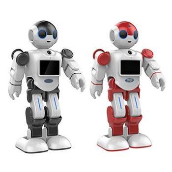 人工智能情感教育学习陪伴机器人小E 智能家庭新成员 教材同步 儿童益智早教学习智能陪伴机器人玩具