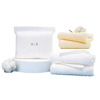 初爱 轻悦系列毛巾一条 纯棉擦手洗脸巾 34X70cm