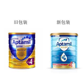 Aptami爱他美 澳洲金装婴儿配方奶粉4段 2岁以上 900克/罐