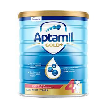Aptamil/爱他美金装婴儿配方奶粉4段900g/罐
