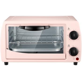 科顺/Kesun 家用多功能电烤箱粉色12升 CKX-121K